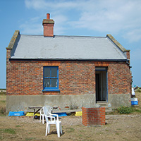 The Blakeney Point Watch House south aspect